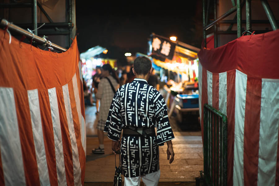 博多祇園山笠前夜