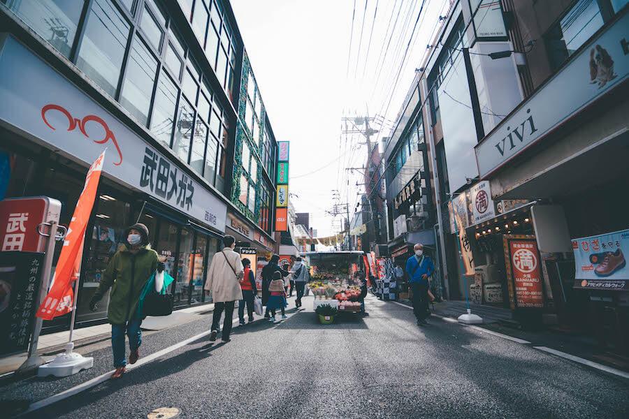 西新商店街の風景